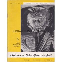 Zodiaque n°29bis - Richesses de Notre Dame du Port