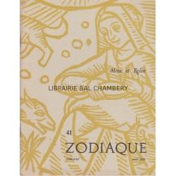 Zodiaque n°41 - Messe et Eglise