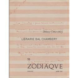 Zodiaque n°53 - Debussy (1862-1962)