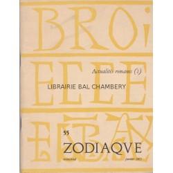 Zodiaque n°55 - Actualités romanes (1)