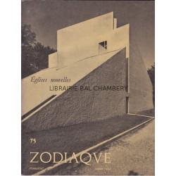 Zodiaque n°75 - Eglises nouvelles