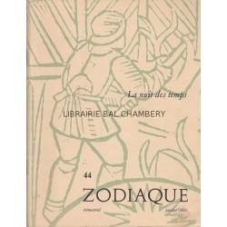 Zodiaque n°44 - La nuit des temps