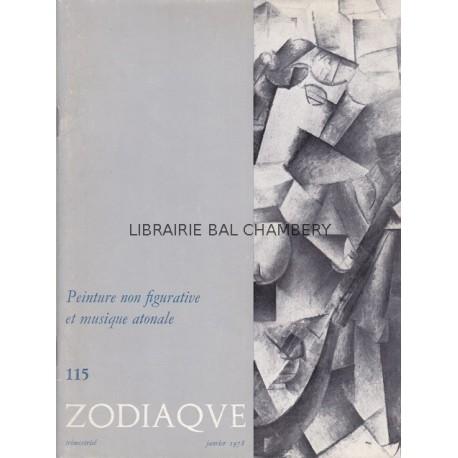 Zodiaque n°115 - Peinture non figurative et musique atonale