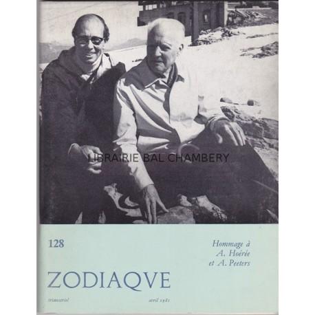 Zodiaque n°128 - Hommage à A. Hoérée et A. Peeters