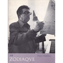 Zodiaque n°135 - Henri Dutilleux