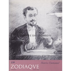 Zodiaque n°139 - Maurice Emmanuel