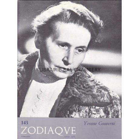 Zodiaque n°143 - Yvonne Gouverné