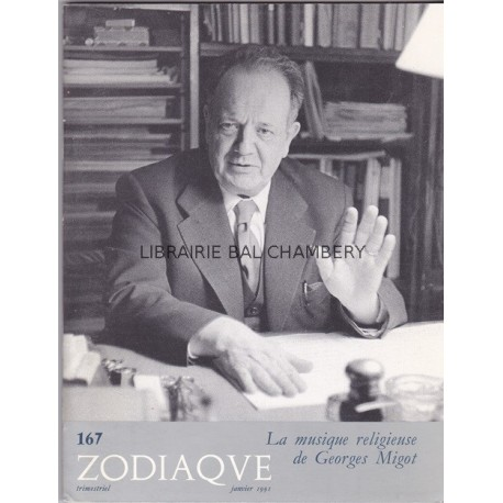 Zodiaque n°167 - La musique religieuse de Georges Migot