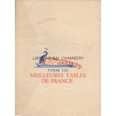 Parmi les meilleures tables de France 1952-1953