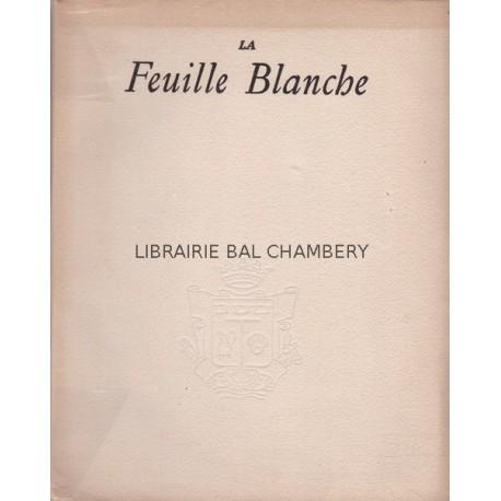 Revue La Feuille Blanche N° 4