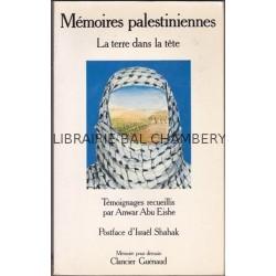 Mémoires palestiniennes